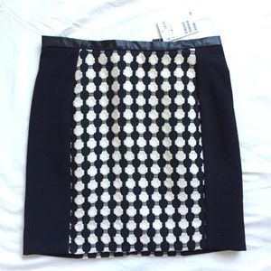 NWT H&m patterned mini skirt